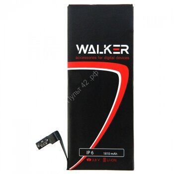 АКБ Walker для Apple iPhone 6 (1810 mAh) (AAA)